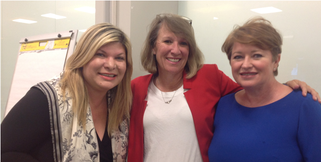 Arlene DeMita, PwC; Ann Dozier, Southern Glazer's Wine & Spirits Claire Marrero, ITWomen, The Talent Source
