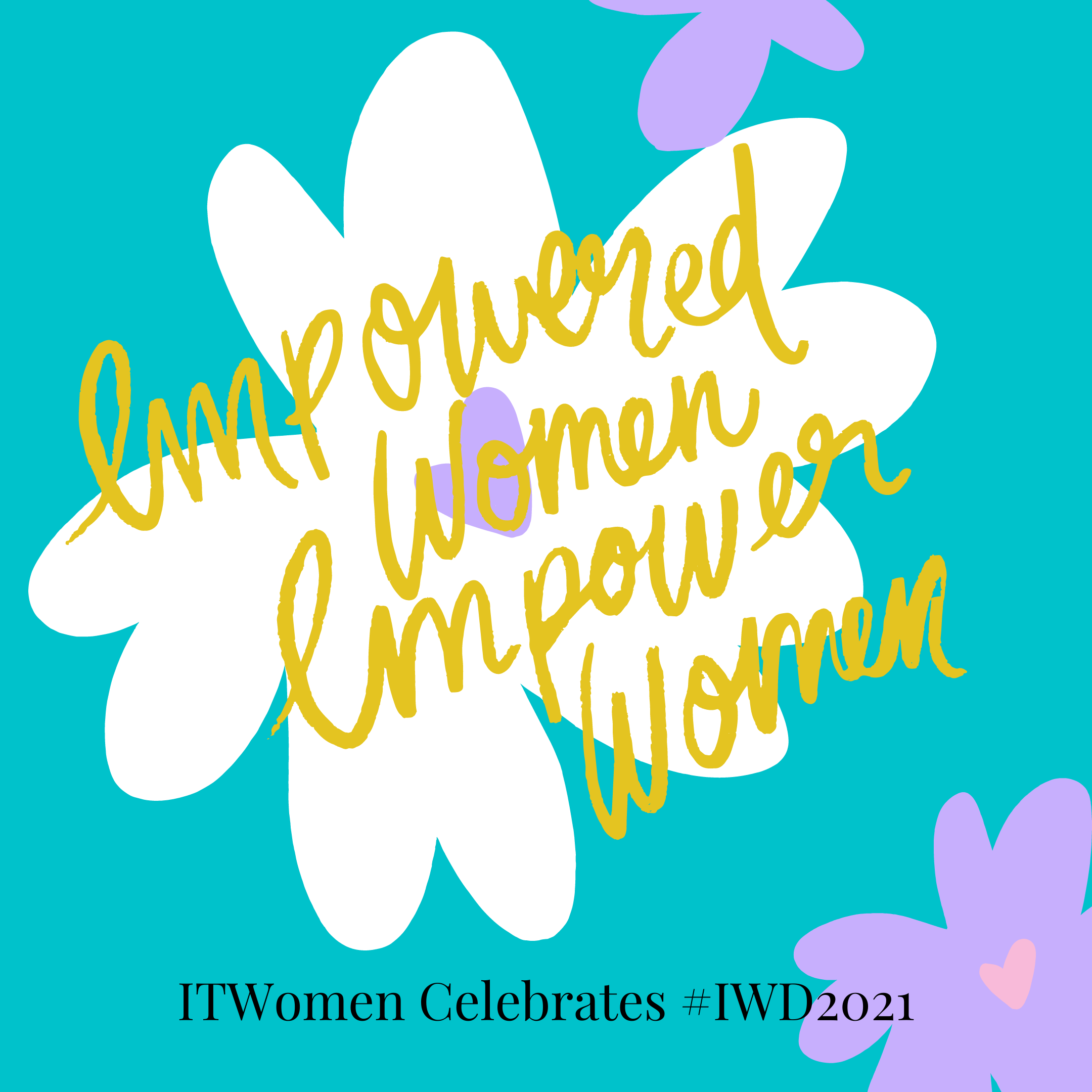 ITWomen celebrating International Women's Day 2021